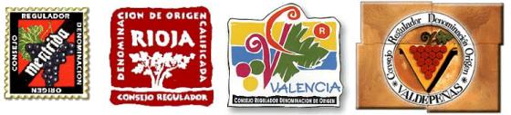 sceaux estampilles vins espagnol