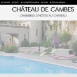 Chambre d'hôtes Château de Cambes